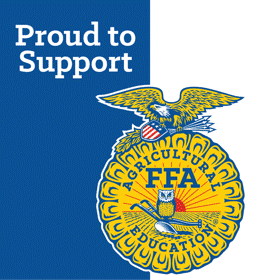 Proud to support the National FFA Organization